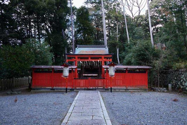京都・吉田神社内、菓祖神社