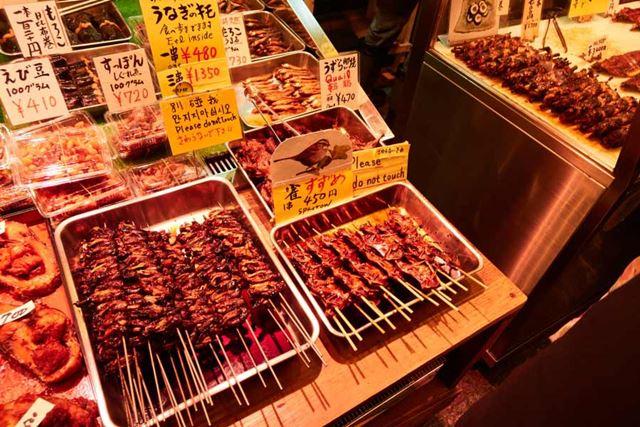 京都・年の瀬の錦市場(比較的寄りの画)