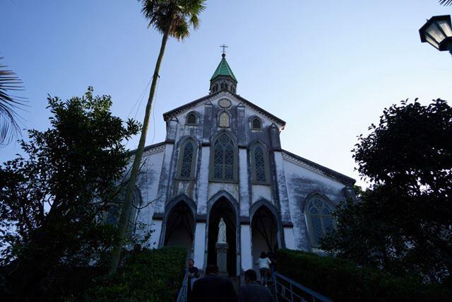世界遺産に登録されたばかりの長崎・大浦天主堂(国宝)