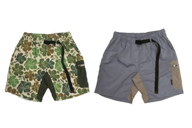 サイドにはファスナー付きのポケットを装備。カラーバリエーションは、全3色で展開