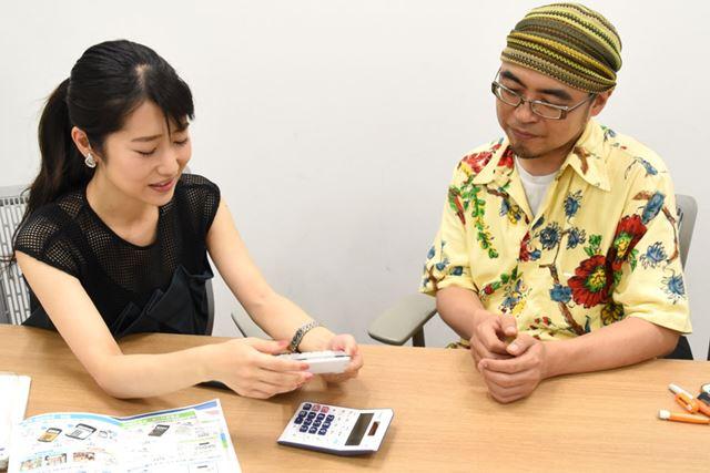 早くも電卓愛をアツく語り始める菅さん