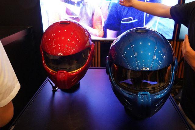 ヘルメット部については安全基準を取得する予定