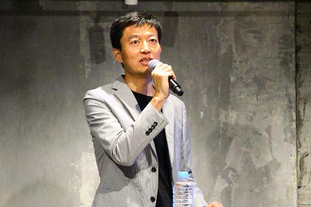 ソニー企業株式会社の代表取締役社長チーフブランディングオフィサーの永野大輔氏