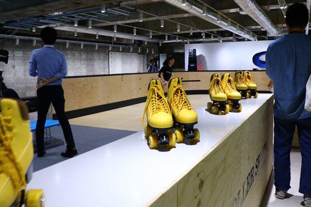 ローラースケートを無料で楽しめるローラースケート場