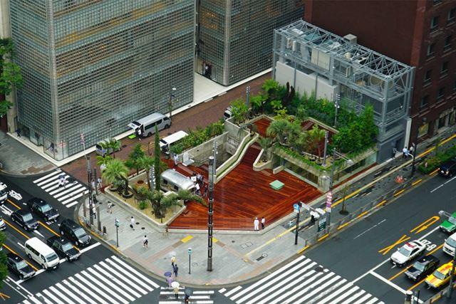 8月9日に開園するGinza Sony Park
