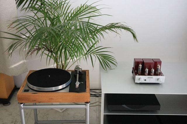 昔ながらのレコードを鳴らすのはもちろん……、