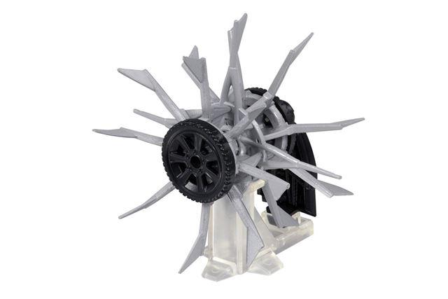 武器用のディスプレイスタンドが付属。形状を維持するためだとは知らなかった!