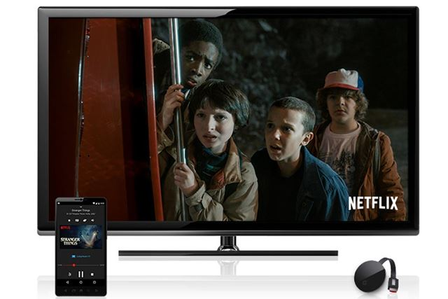 テレビ画面で視聴するデバイス対応も各社進められている