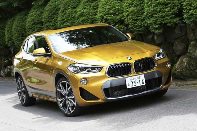 BMW X2のフロントエクステリア