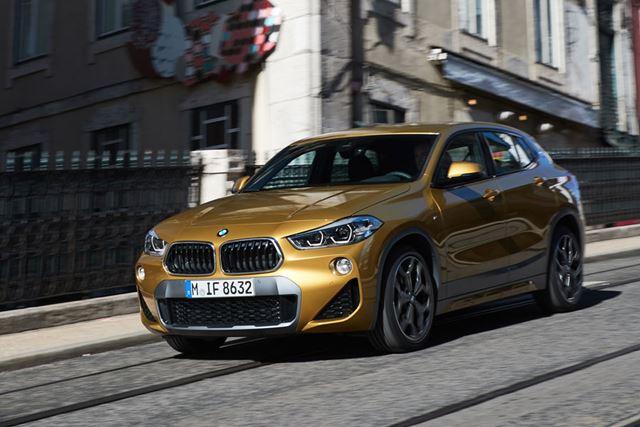BMW X2の走行イメージ