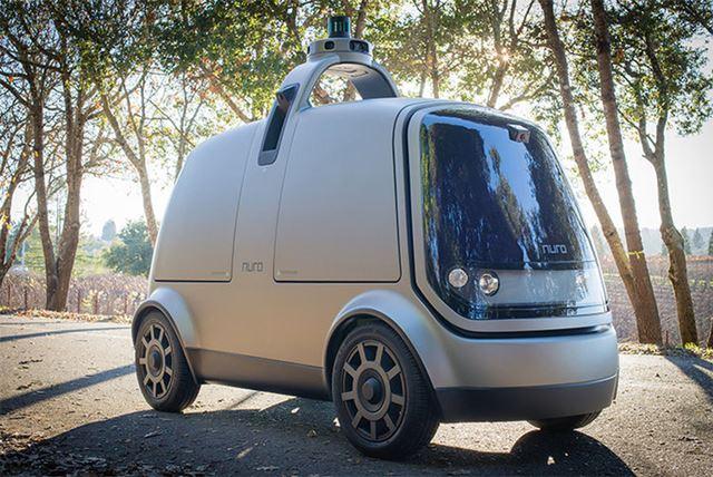 Nuroは現在、無人自動運転カーをカリフォルニア州でテスト中