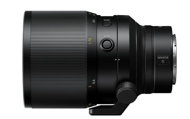 2019年に発売を予定している「NIKKOR Z 58mm f/0.95 s Noct」