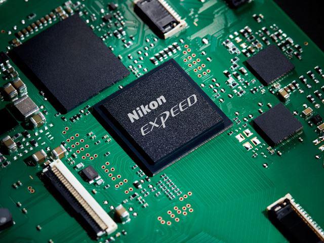 Zシリーズ用に新開発された画像処理エンジン「EXPEED 6」