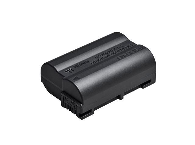 付属バッテリーは最新の「EN-EL15b」