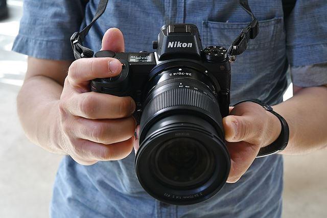 Nikon Z7とNIKKOR Z 24-70mm f/4 Sを試すことができた
