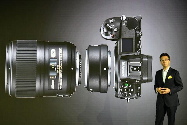 FTZを利用すれば約360本のNIKKOR Fレンズを装着して撮影できる