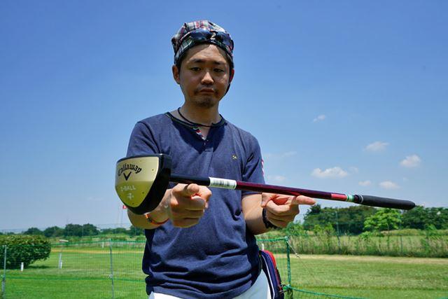 ゴルフのパターでいう「フェースバランス」になるのもパークゴルフ用クラブの特徴の1つ