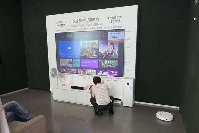 2Fには製品を総合的に展示するスペースなどがあった