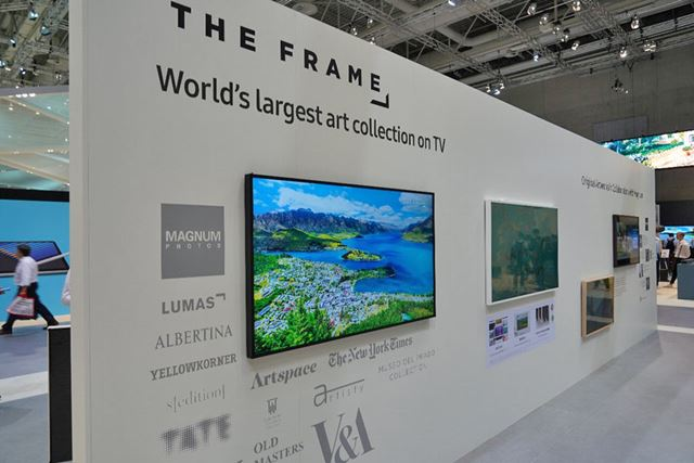 「THE FRAME」にはMAGNUM PHOTOSの写真を提供
