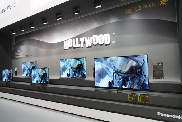 有機ELテレビの「FZ1000」でメタデータ付きHDRの「HDR10+」への対応も改めてアピールしていた