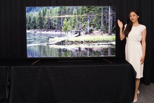 4K液晶テレビ「BRAVIA Z9F」