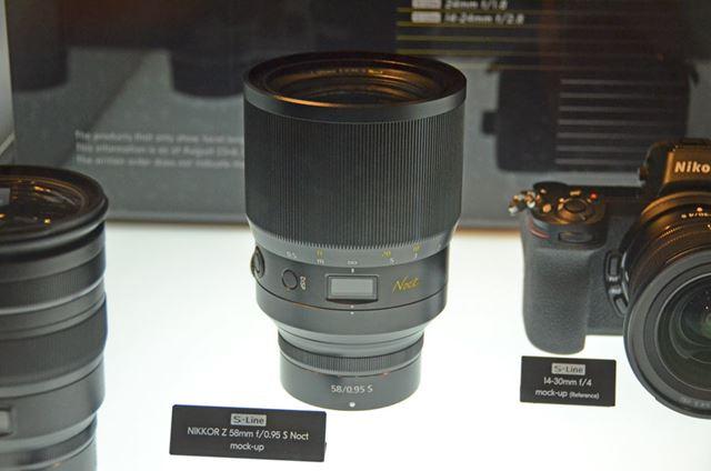 開放F値0.95を実現した話題の「NIKKOR Z 58mm f/0.95 S Noct」