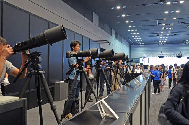 超望遠撮影コーナー