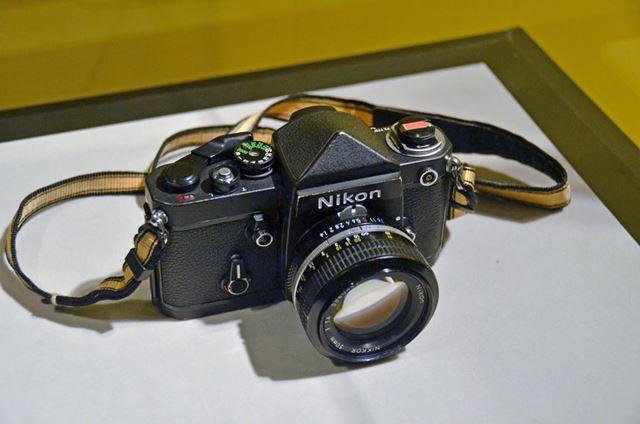 冒険家の植村直己さんの挑戦を支えた極地仕様の「Nikon F2」も展示されていました。普段見ることのない製品の展示があるのもファンミーティングの見どころです