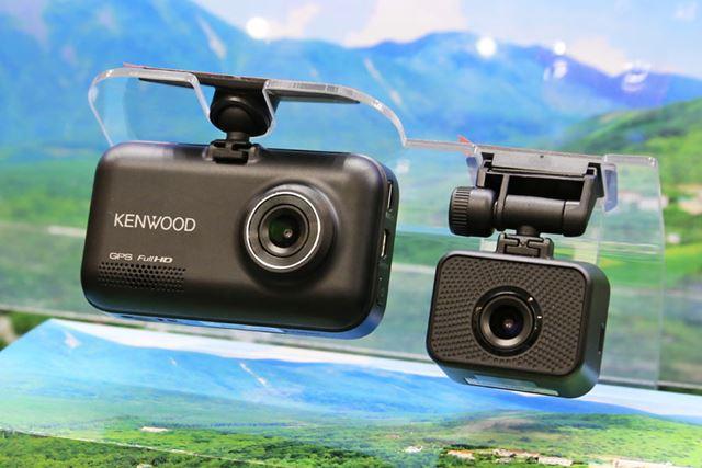 KENWOOD初となるリアカメラ同梱のドライブレコーダー「DRV-MR740」