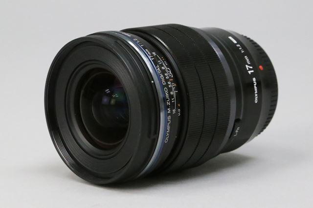 オリンパス「M.ZUIKO DIGITAL ED 17mm F1.2 PRO」