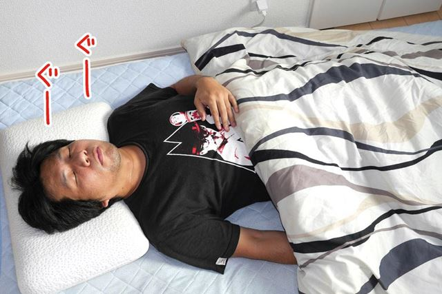 あとは「スマート睡眠パッド」を敷いた布団の上で眠るだけでオッケー!