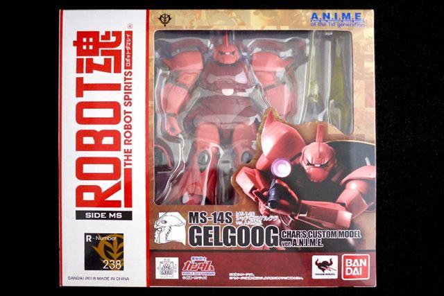 ROBOT魂より「MS-14S シャア専用ゲルググ ver. A.N.I.M.E.」です