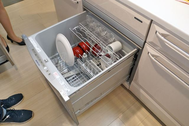 45cm幅の食器洗い機もリンナイ製