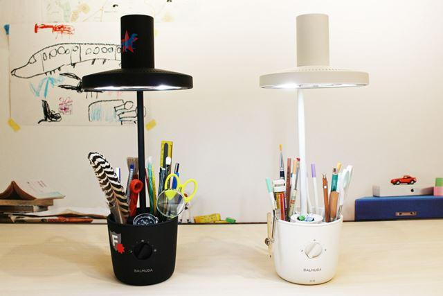 BALMUDA The Lightは、子どもたちの創造力によって世界にひとつしかないデスクライトに!