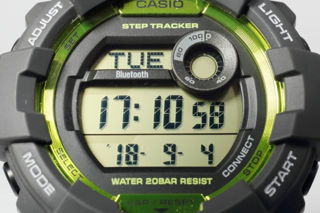 時刻の「8」を見ると、12個のパーツで構成されていることがわかる