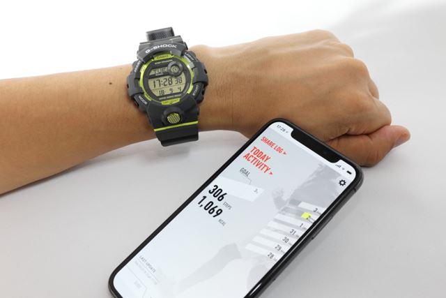 「GBD-800」と専用アプリ「G-SHOCK Connected」