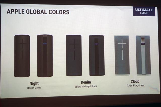 Apple Store限定カラーも用意される予定