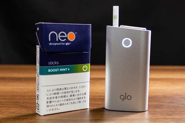 加熱し始めると漂ってくる酸味を抑えたタバコ感のある香ばしい香りで、ネオ・シリーズだとわかる