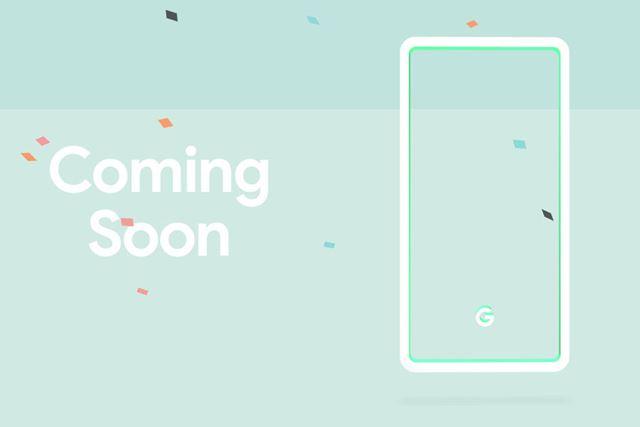 Googleが公開したティザーサイトには「Coming Soon」の文字が