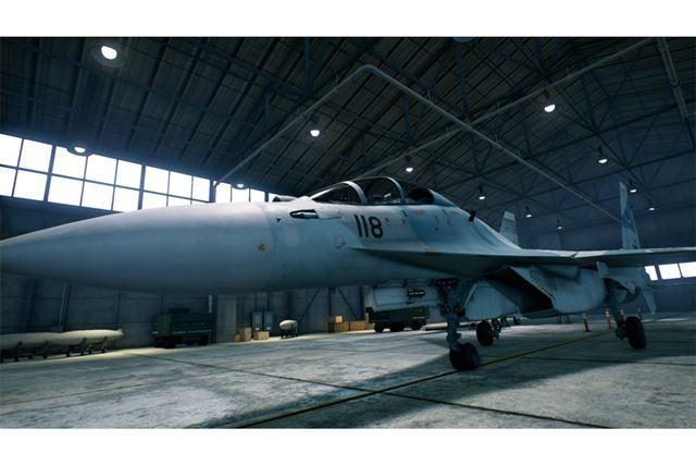 Su-30M2フランカー-F2