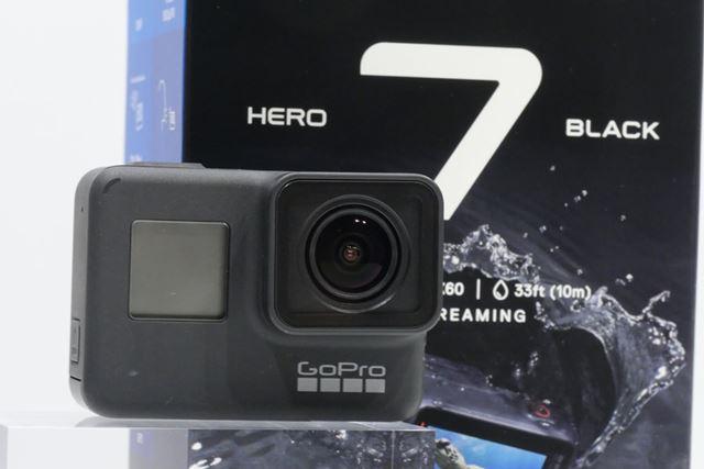 シリーズ最新モデルの「HERO7 BLACK」