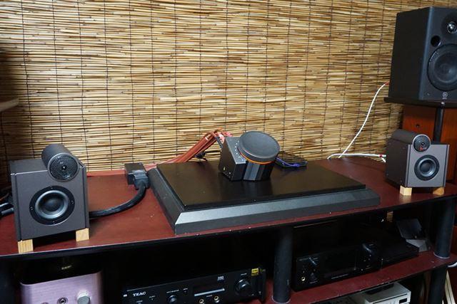 IRIVER「Astell&Kern ACRO L1000」の試聴テストの様子