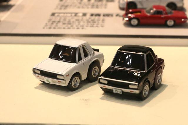 犯人車の「スカイラインGT」。価格はいずれも2,300円(税別)