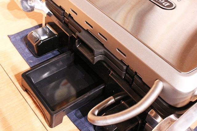 油受けも用意されているので、調理を終えたら洗っておきましょう