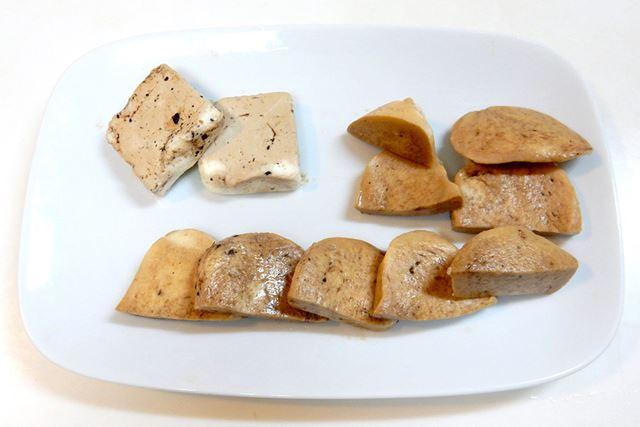 カニカマ以上にヒットだったのがクリームチーズ(左上)とモッツァレラチーズ