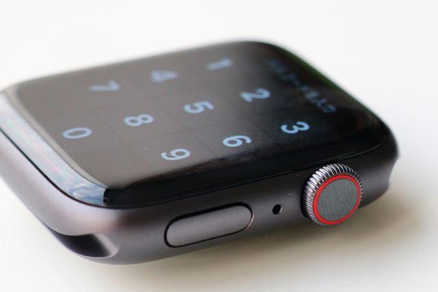触覚フィードバック機能を搭載したデジタルクラウン