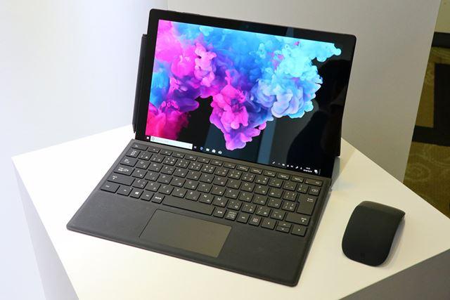 「Surface Pro 6」の新色となるブラックモデル