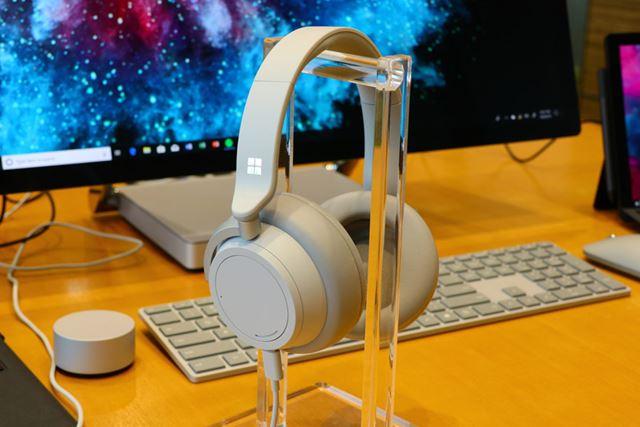 来年2019年に日本でも発売されることが決まったSurface Headphones