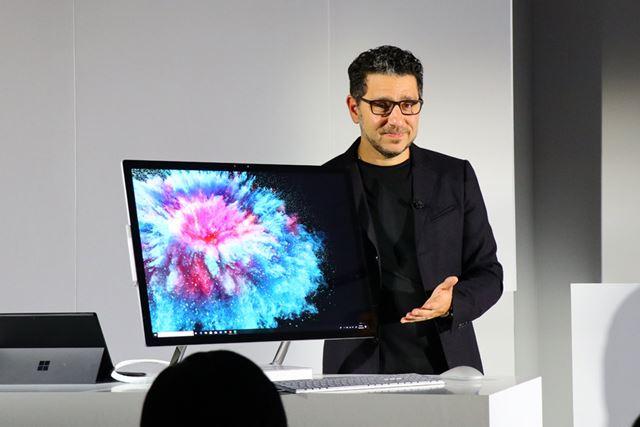 Surface Studio 2は2019年1月発売予定。価格は未定
