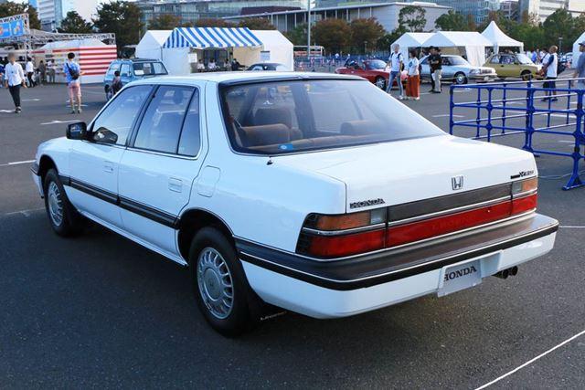 当時の高級車としてはオヤジっぽくないスッキリしたデザインで、若者のウケもよかった